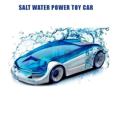 ماشین رباتیک با سوخت آب نمک (سرگرم کننده ترین اسباب بازی)
